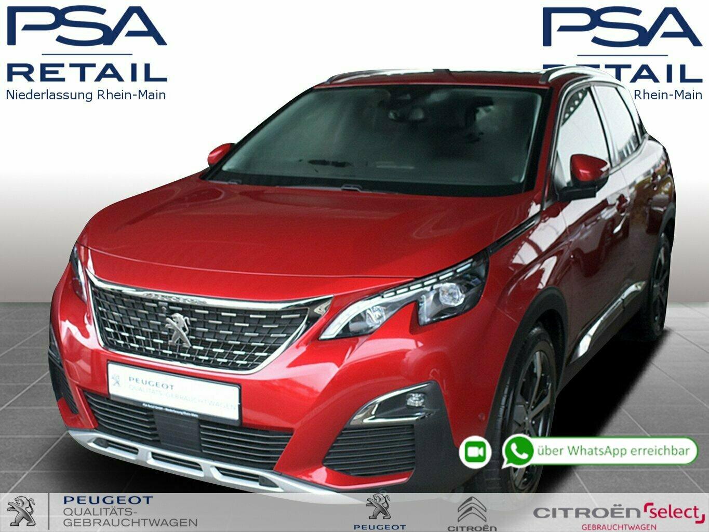 Peugeot 3008 Allure BlueHDi 180 EAT8 *LEDER*GSD*AHK*ACC*etc., Jahr 2018, Diesel