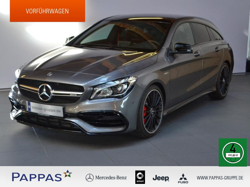 Mercedes-Benz CLA 45 AMG Shooting Brake 4MATIC Harman+Designo, Jahr 2018, Benzin