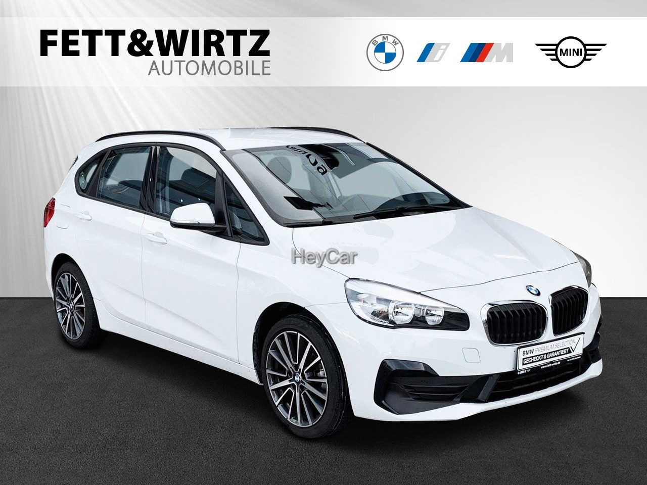 BMW 216 Active Tourer Adv. Navi 18'' Aut.-Heckkl., Jahr 2019, Benzin