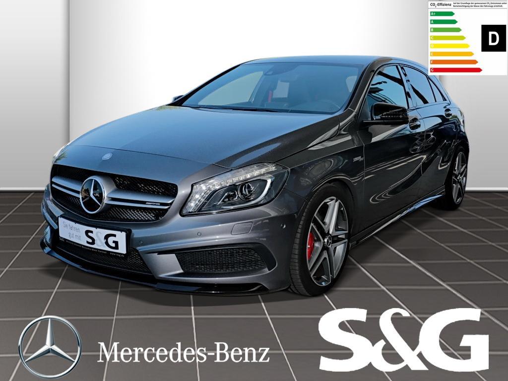 Mercedes-Benz A 45 AMG 4MATIC RüKam./Tempomat/Navi/Sitzheizung, Jahr 2014, Benzin
