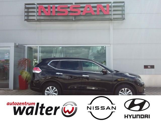 Nissan X-Trail Acenta, 1,6 L, Navi, 360° Kamera, Verkehrszeichenerkennung, Jahr 2015, Diesel