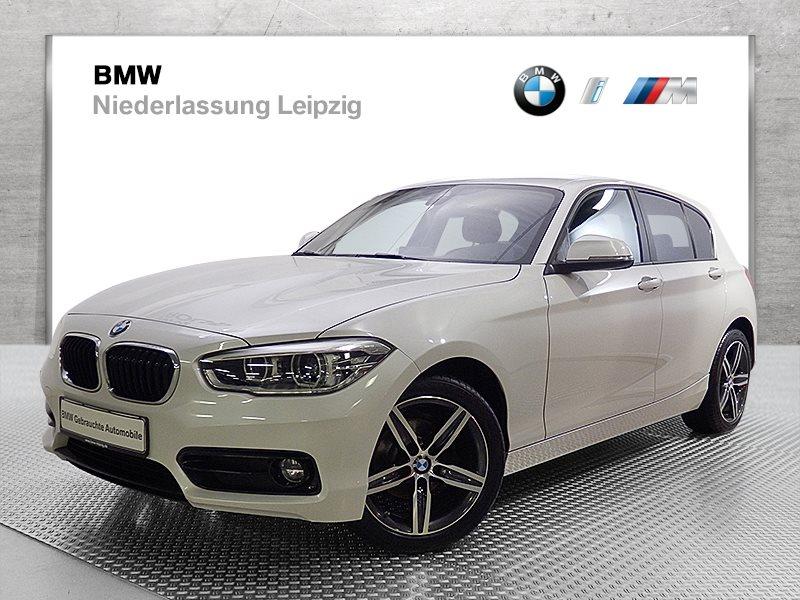 BMW 116d 5-Türer EURO6 Sport Line LED Navi Bus. Fl.Ass. USB Shz, Jahr 2017, Diesel