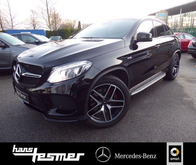Mercedes-Benz GLE 43 AMG 4M AIRMATIC*ILS*SPUR*NAVI*NIGHT*360°, Jahr 2016, Benzin