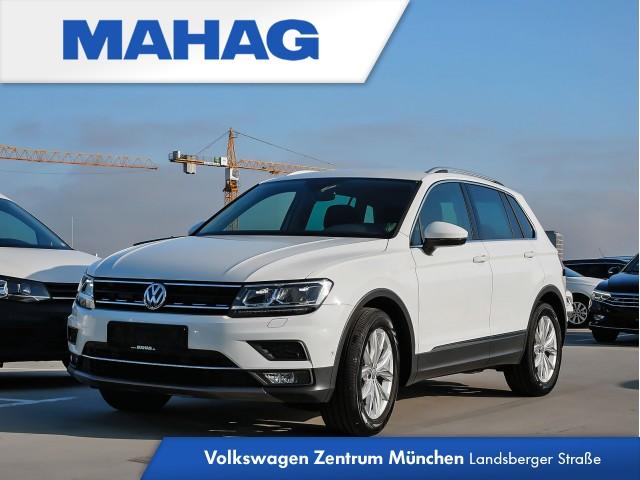 "Volkswagen Tiguan Highline 2.0 TDI BMT 6-Gang - Rückfahrkamera ""Rear View"" inkl. Parklenkassistent ""Park Assist"" - Navigationssystem ""Discover Media"" - ""Air Care Climatronic"" mit 3-Zonen - Spurhalteassistent - LED- Hauptscheinwerfer - Ambientebeleuchtung, Jahr 2018, diesel"