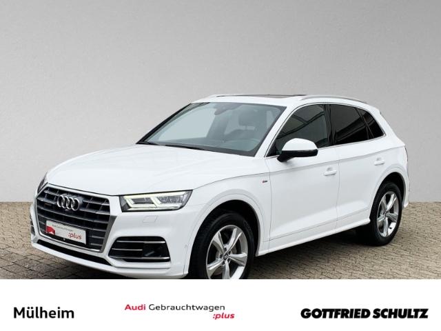 Audi Q5 2.0 TDI quattro S-tronic VIRTUAL PANO KAMERA HEAD-UP S-LINE, Jahr 2018, Diesel