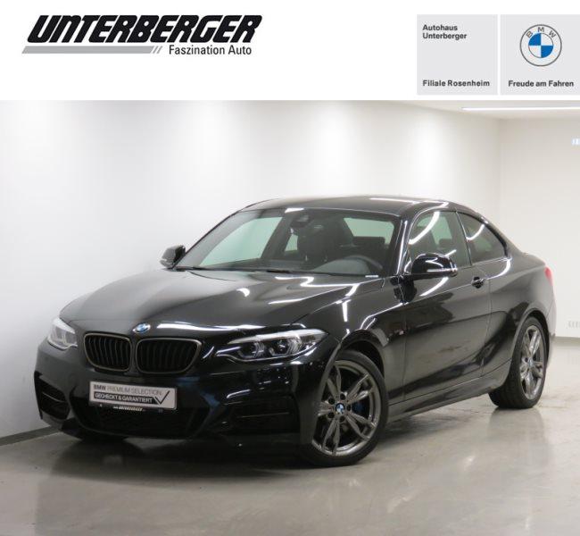 BMW M240i Coupé M Sportpaket H&K HiFi Navi Prof. UPE 61.150€, Jahr 2020, Benzin