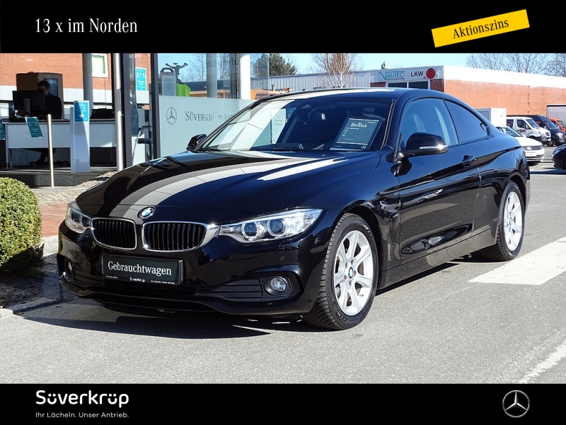 BMW 420 d Coupe LEDER NAVI SD, Jahr 2014, Diesel