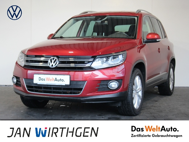 Volkswagen Tiguan 2.0TDI 4Motion Sport & Style AHZV XENON G, Jahr 2015, Diesel