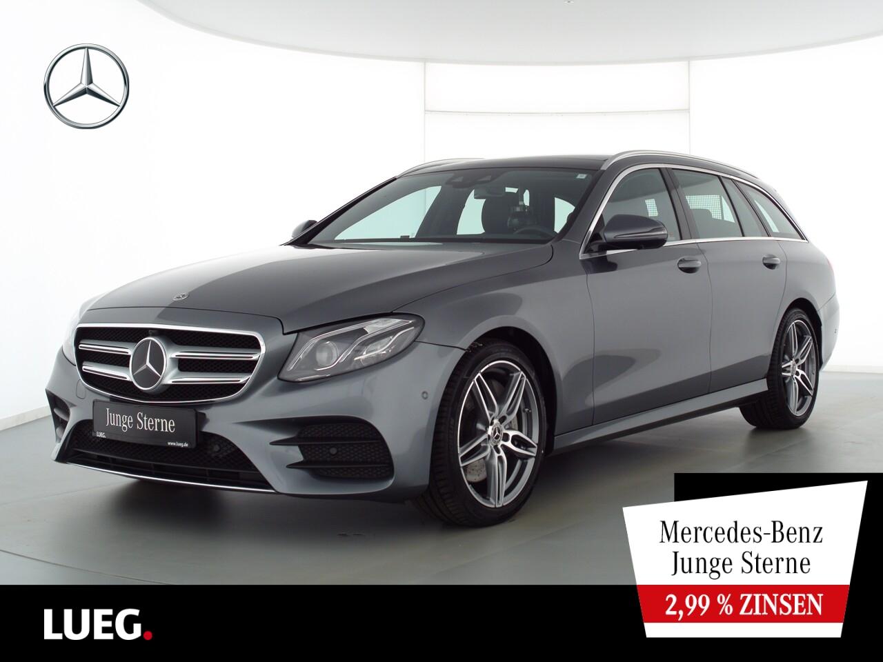 Mercedes-Benz E 450 T 4M AMG+COM+Pano+Mbeam+DistrPl+Widesc+360, Jahr 2020, Benzin