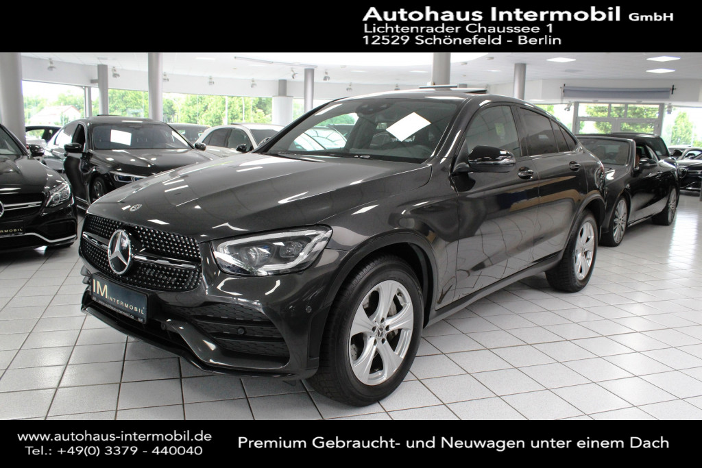 Mercedes-Benz GLC 220 d Coupe 4Matic 9G*AMG*Media*Night Paket, Jahr 2019, Diesel