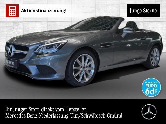 Mercedes-Benz SLC 180 Pano ILS LED Kamera Navi Spurhalt-Ass PTS, Jahr 2019, Benzin