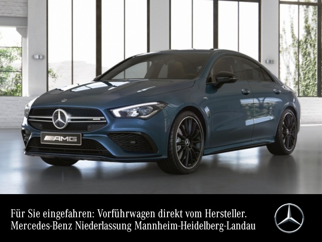 Mercedes-Benz CLA 35 AMG 4Matic Bluetooth Navi LED Klima, Jahr 2020, Benzin