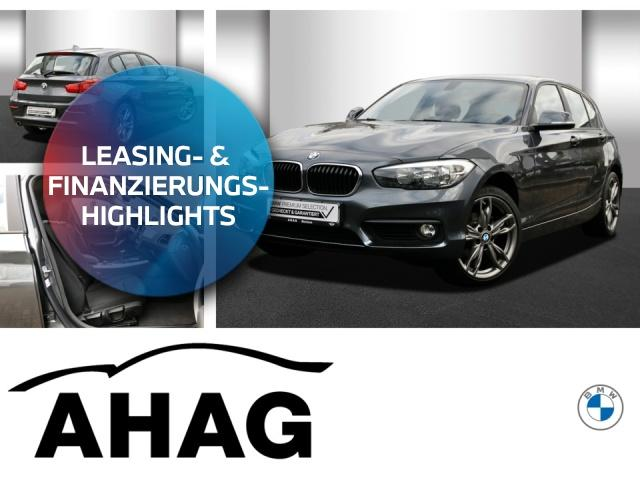 BMW 118d Advantage AHK LM PDC Servotronic NSW, Jahr 2017, Diesel