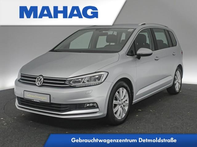 Volkswagen Touran 1.4 TSI Highline Navi LED Bluetooth ParkPilot 17Zoll 6-Gang, Jahr 2017, Benzin