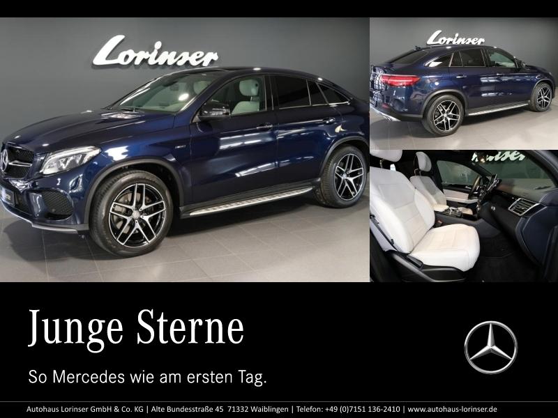 Mercedes-Benz GLE 450 AMG 4MATIC Coupé* AMG/PANO/DISTRONIC/AHK, Jahr 2015, Benzin