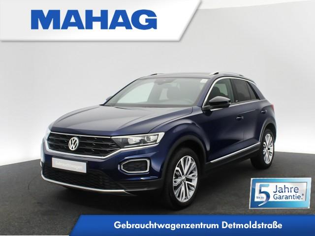 Volkswagen T-ROC UNITED 2.0 TDI 4mot. Navi LED AHK Standhz. eKlappe Keyless 18Zoll DSG, Jahr 2020, Diesel