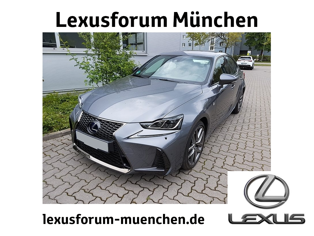 Lexus IS 300h F Sport (EURO 6d-Temp) *Navi*Matrix LED*, Jahr 2018, Hybrid