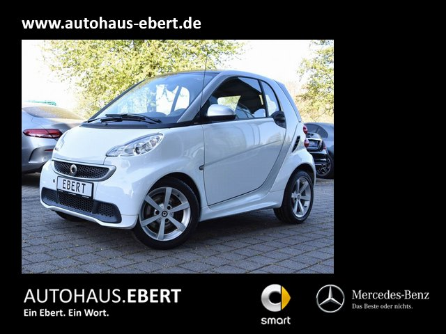 smart fortwo coupe mhd passion SERVO+PSD+KLIMA, Jahr 2013, Benzin