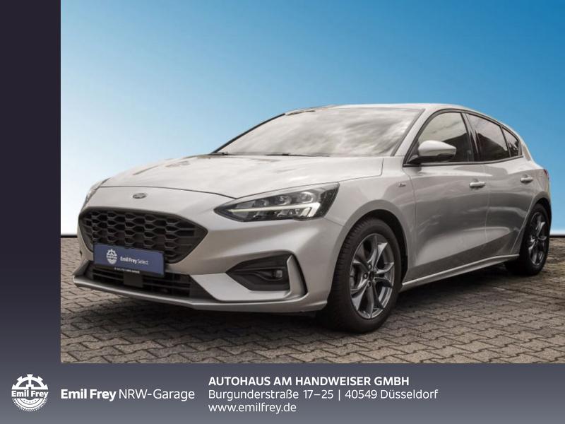 Ford Focus ST-LINE 1.0 EcoBoost Navi LED Scheinwerfer, Jahr 2020, Benzin