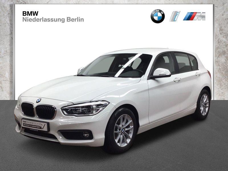 BMW 116i 5-Türer EU6 LED Navi Servotronic PDC Alu, Jahr 2017, Benzin