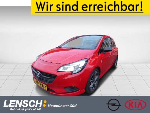 Opel Corsa E 1.4 Turbo S OPC SHZ+LHZ G DACH LED SW, Jahr 2017, Benzin