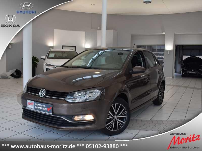 Volkswagen Polo 1.2 TSI Allstar BMT *PANORAMA*AUTOMATIK*, Jahr 2016, Benzin
