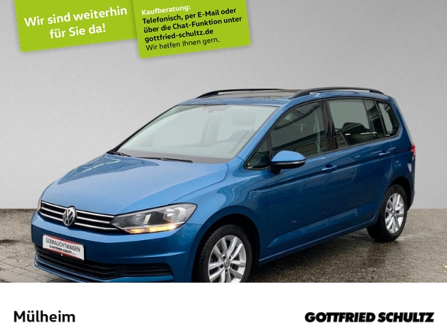 Volkswagen Touran 1.6 TDI DSG 7-Sitzer Pano Kamera Navi Comfortline, Jahr 2017, Diesel