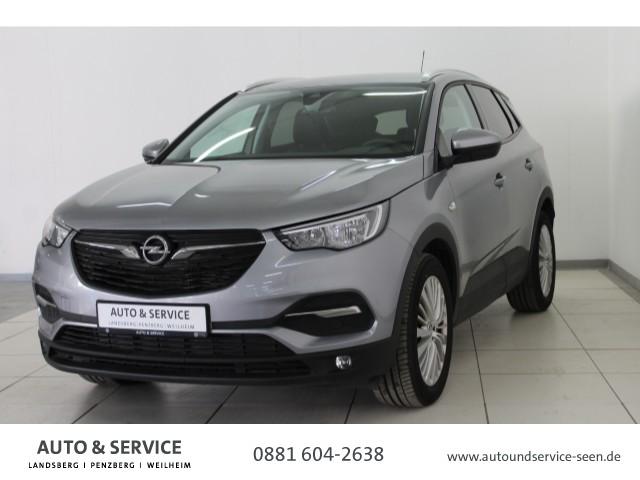 Opel Grandland X 1.2 Turbo Edition*PDC*TEMPOM*UVM*, Jahr 2017, Benzin
