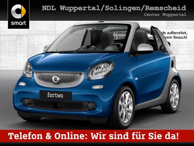 smart fortwo cabrio 60kWed passion cool&Audio PDC Tempom, Jahr 2017, Elektro