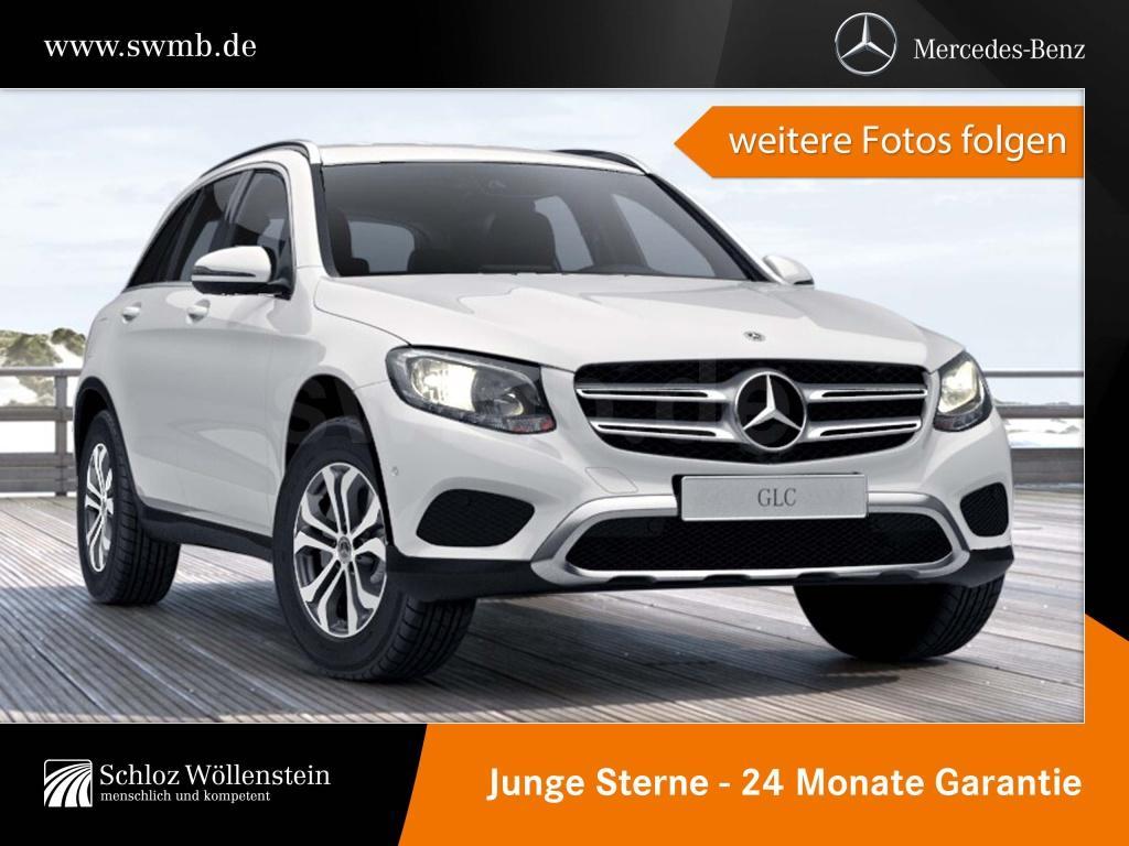 Mercedes-Benz GLC 220 d 4M Chrom P./Sitzheiz./Garmin/9G-TRONIC, Jahr 2017, Diesel