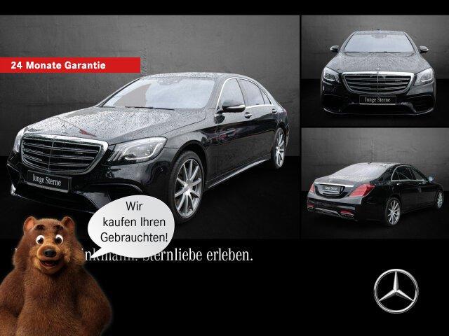 Mercedes-Benz AMG S63 4MATIC+ lang Pano//360°/Comand/Multibeam, Jahr 2018, Benzin