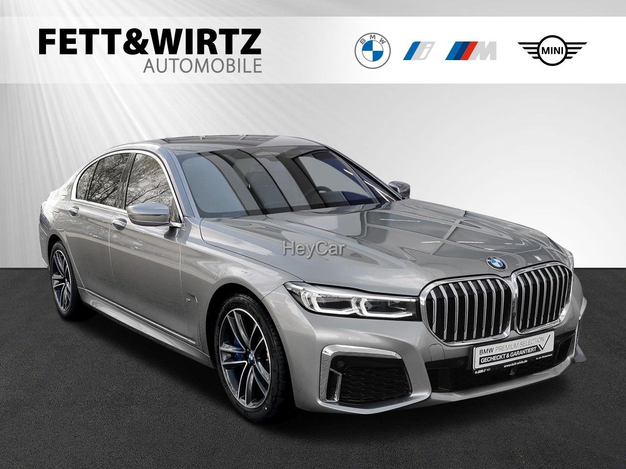 BMW 745e M Sport B&W TV Leas. ab 1.178,- br. o. Anz., Jahr 2020, Hybrid