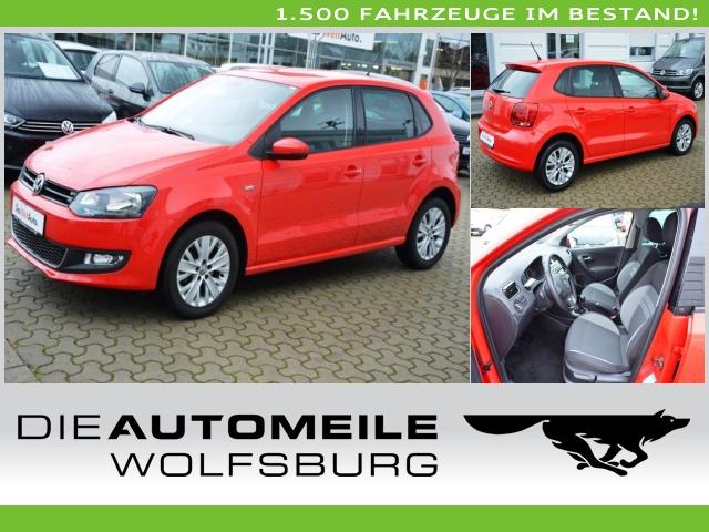 Volkswagen Polo 5 V 1.2 Life PDC/RCD 310/SpoSi Klima, Jahr 2013, Benzin
