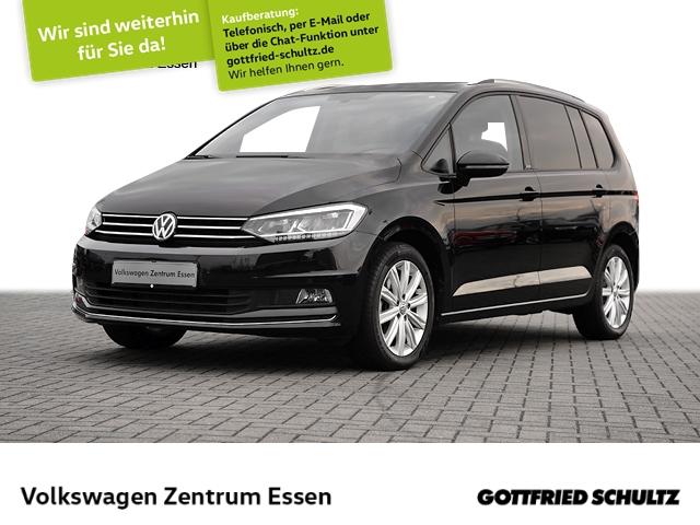 Volkswagen Touran United 1,5 TSI DSG PANO NAVI LED SHZ, Jahr 2020, Benzin