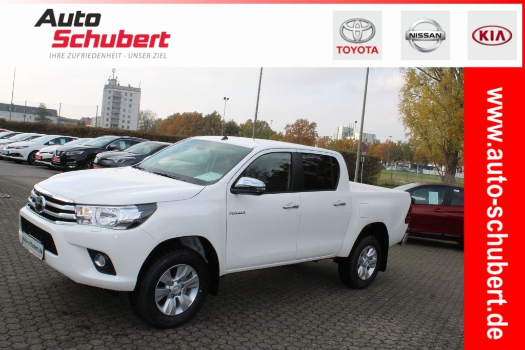 Toyota HiLux 4x4 Double Cab Comfort+6.Gang+ToyotaTouch+, Jahr 2019, diesel