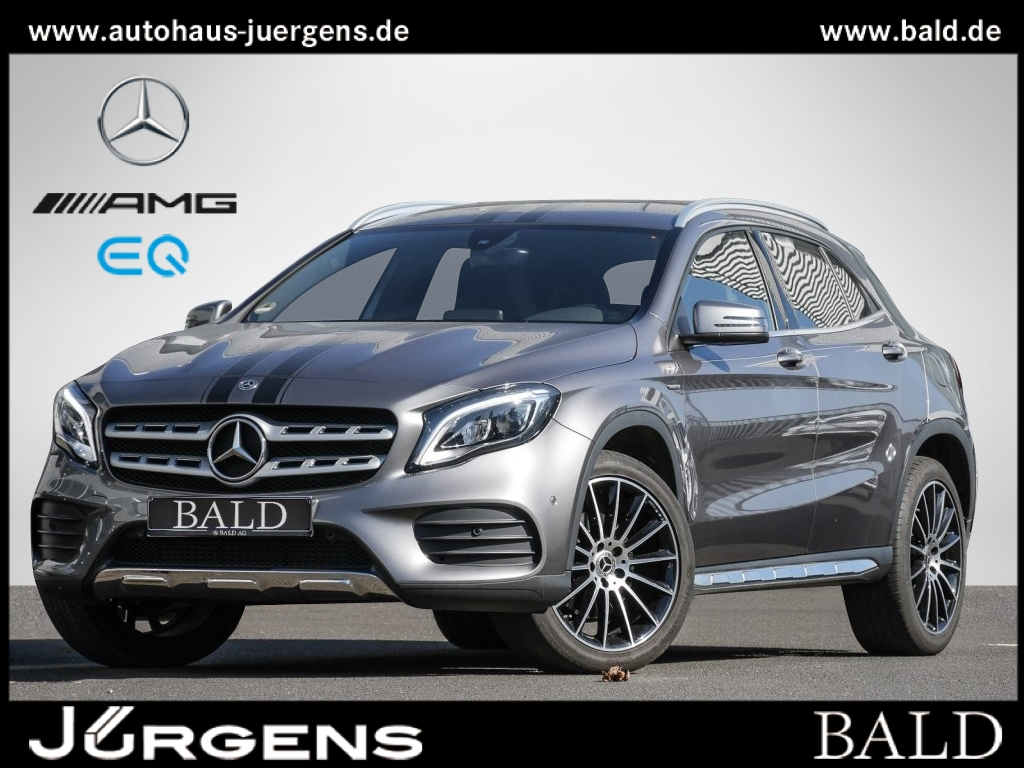 Mercedes-Benz GLA 220 4M AMG-Sport/Navi/LED/Kamera/EASY-P/SHZ, Jahr 2017, Benzin