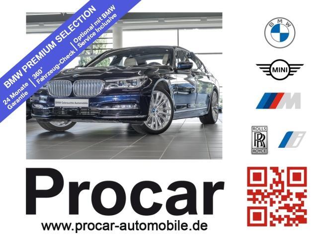 BMW 740Le iPerformance Fond Entertain DA+ H/K Laser, Jahr 2016, Hybrid