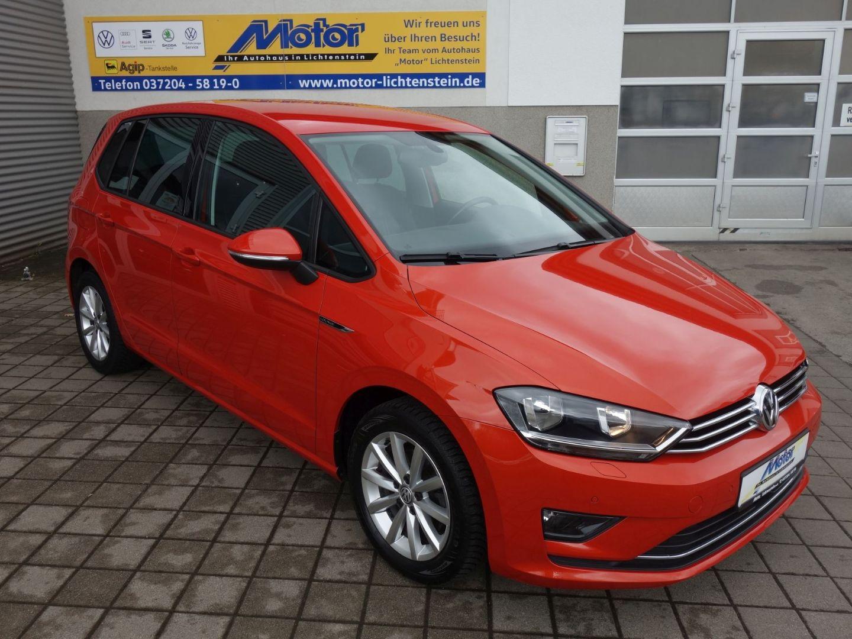 "Volkswagen Golf Sportsvan LOUNGE 16""LM AC+ GRA PDC+ FLA Stz, Jahr 2015, petrol"