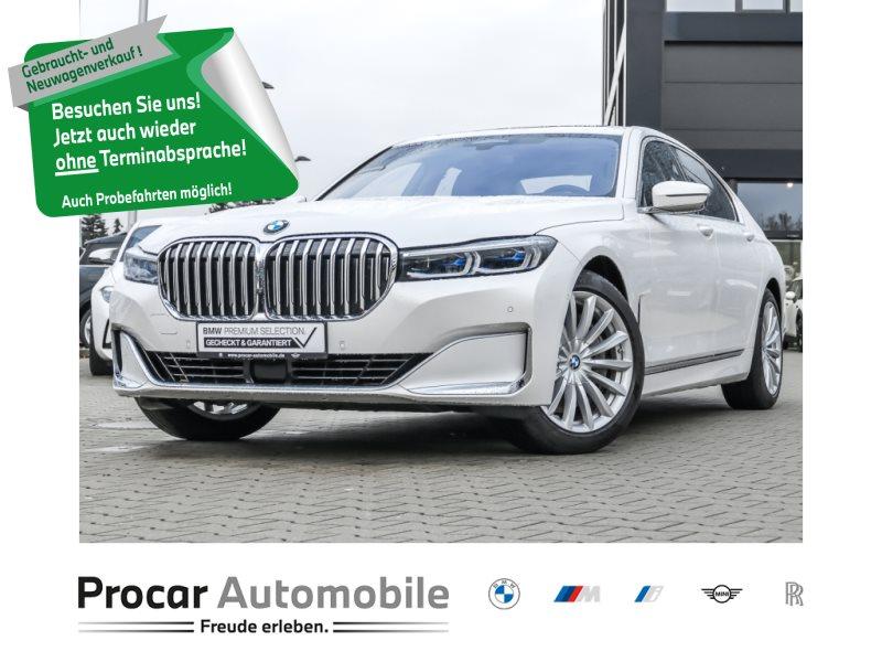 BMW 750d xDrive DA+ Massage Standhzg. H/K TV+ PA+, Jahr 2019, Diesel