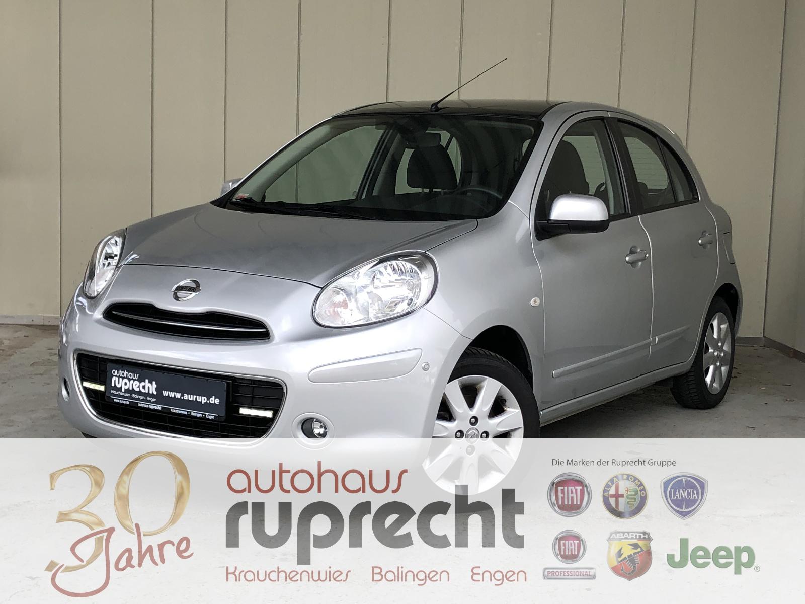 Nissan Micra *NAVI*KLIMA*SITZHEIZUNG*, Jahr 2012, petrol