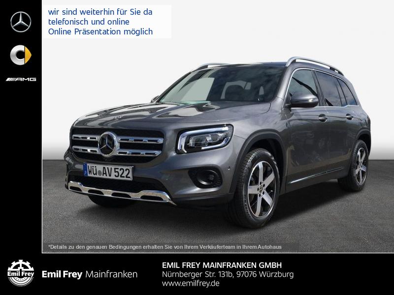 Mercedes-Benz GLB 200 d 8G Progressive*SpiegelP*Easy-Pack*LED*, Jahr 2019, Diesel