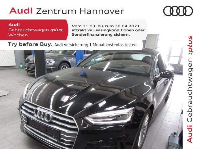 Audi A5 Sportback 40 TDI S-line, virtual, Navi Plus, Teilleder, Xenon, Jahr 2019, Diesel