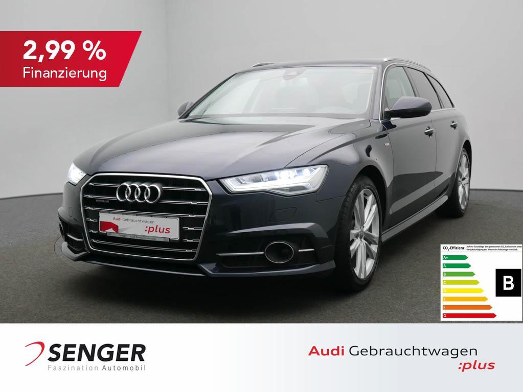 Audi A6 Avant 2.0 TFSI quattro S line Autom. Standhzg, Jahr 2018, Benzin