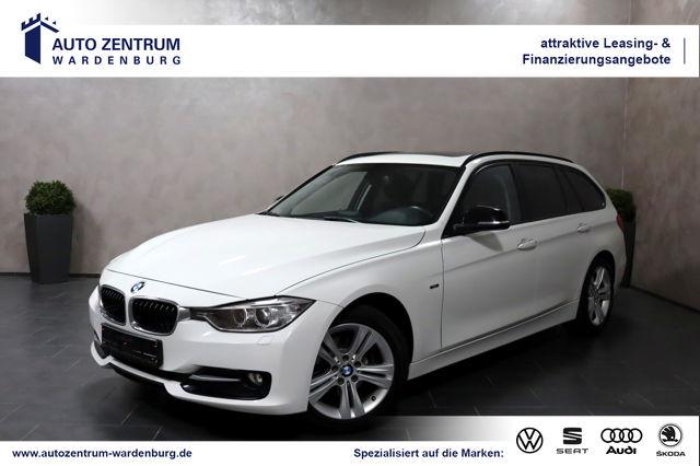 BMW 316 Touring Aut. Sport Line XENON PANO SHZ TEM, Jahr 2014, Benzin