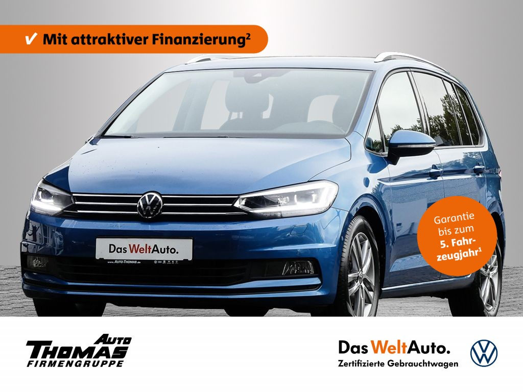 "Volkswagen Touran ""Comfortline"" 1.5 TSI LED+NAVI+AHK, Jahr 2020, petrol"