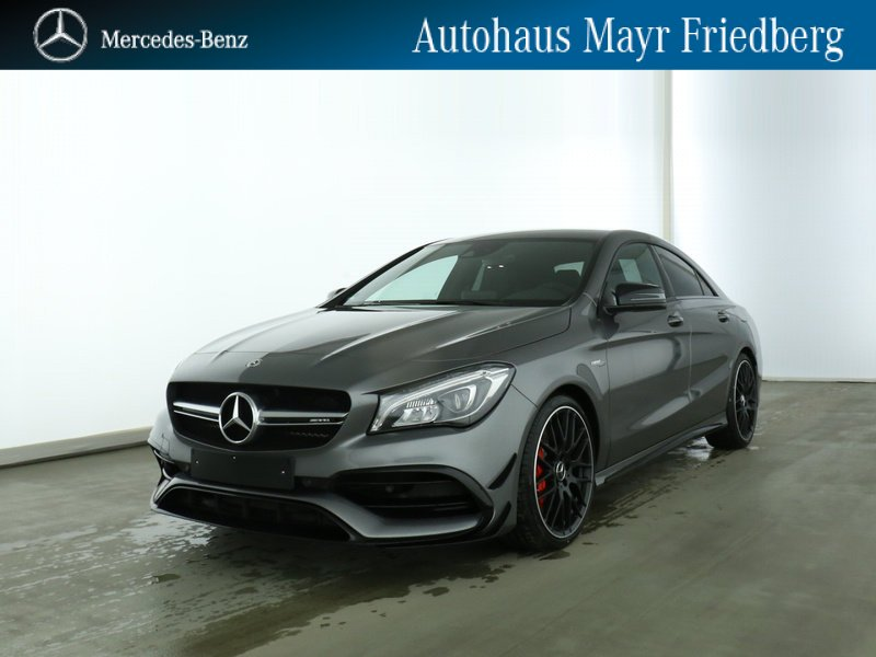 Mercedes-Benz CLA 45 4M Coupé COMAND+PERF.SITZE+DRIVERS P+AERO, Jahr 2019, Benzin