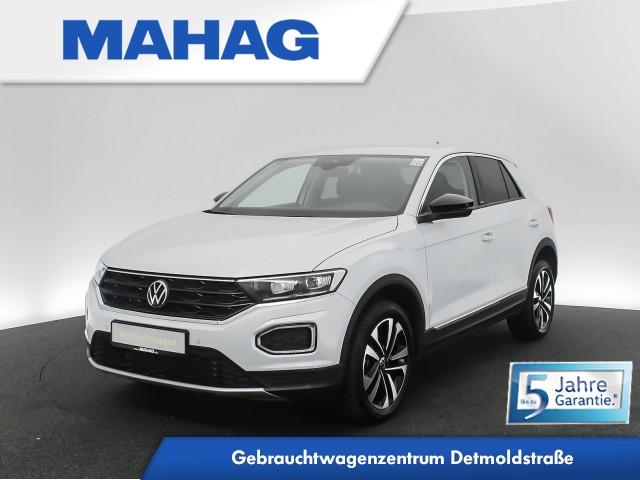 Volkswagen T-ROC UNITED 2.0 TDI Navi LED Standhz. eKlappe Sprachbed. USBc DAB+ Bluetooth 17Zoll DSG, Jahr 2020, Diesel