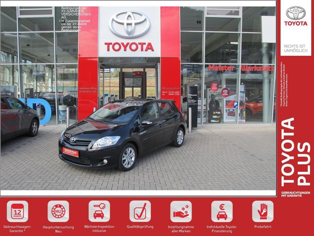 Toyota Auris 1.33 VVT-i *Klimaautomatik*Alu*SHZ, Jahr 2012, Benzin