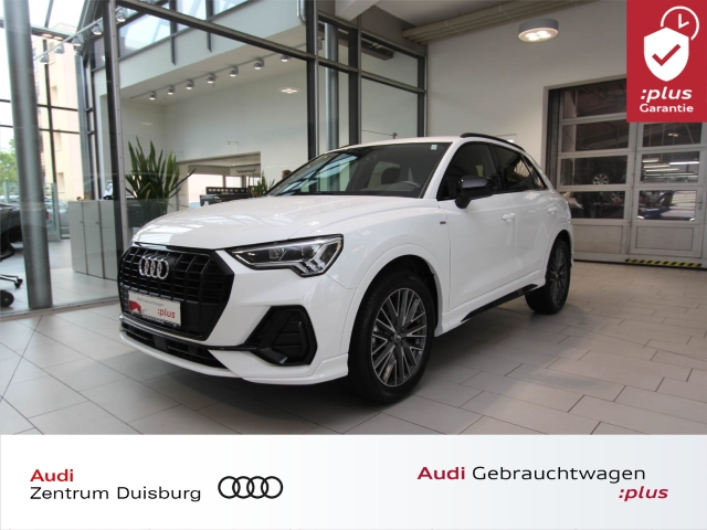 Audi Q3 35 TFSI S line S tronic AHK LED Navi Plus, Jahr 2019, Benzin