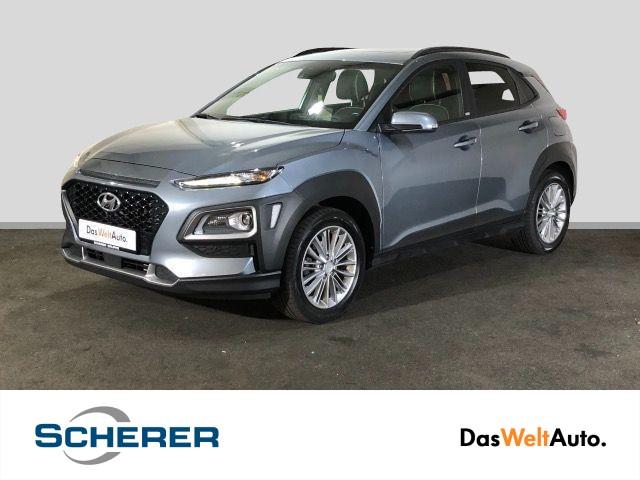 Hyundai Kona 1.0 T-GDI PANO LED HEAD-UP AHK KAMERA, Jahr 2019, Benzin